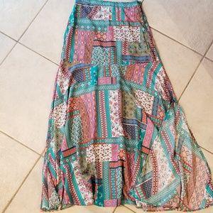 Sundance Boho Maxi Skirt- Size XS